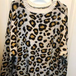 Sassy Leopard Sweater